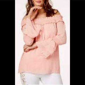 Thalia Sodi XXL Off the Shoulder Blouse